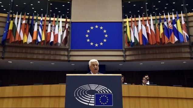 Abbas a la UE