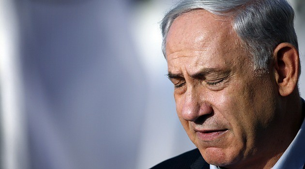 Netanyahu Crying