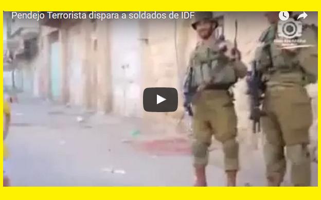 Pendejo terroris niño dispara a las IDF