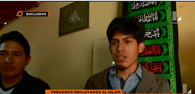 Peruanos reclutados al Islam