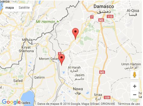 mapa-posiciones-sirias-atacadas-por-las-idf-13-09