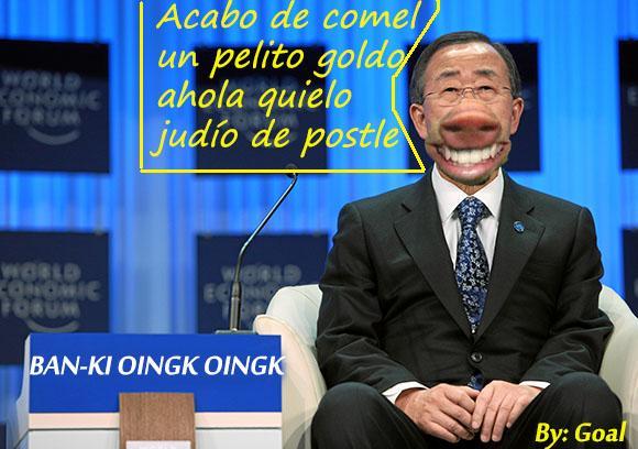 Combating Chronic Disease: Ban Ki-moon