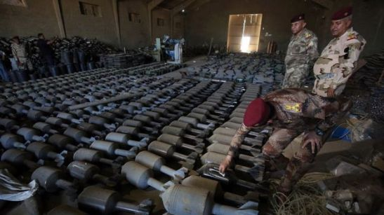 las-fuerzas-iraquies-recuperaron-gran-cantidad-de-municiones-en-faluya
