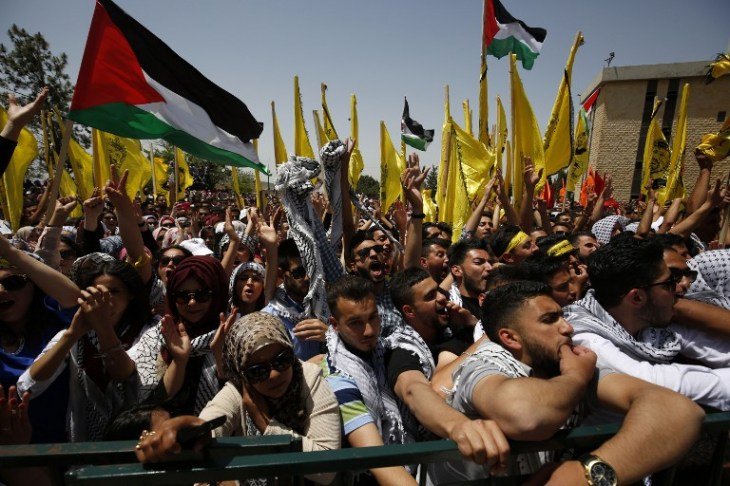 PALESTINIAN-ISRAEL-WEST-BANK-STUDENTS