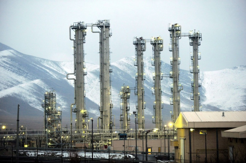 epa02996590 (FILE) A file photograph dated 15 January 2011 shows a general view of the Iran's heavy water reactor in the city of Arak, Iran. The International Atomic Energy Agency (IAEA) on 08 November 2011 published the clearest indications to date that Iran has been developing a nuclear weapon. The report, which detailed a large number of nuclear-related projects and experiments, said that some of the activities might be ongoing. The Vienna-based agency concluded that Iran had worked on using uranium metal in a nuclear warhead and on computer-modelling of nuclear explosions.  EPA/HAMID FORUTAN *** Local Caption *** 00000402531093