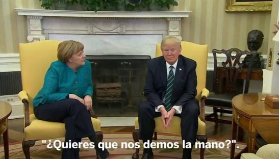 Donald-Trump-rechaza-dar-la-mano-a-Angela-Merkel-ante-los-periodistas