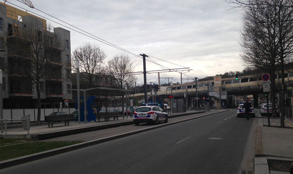 La policía evacuó una estación de tren en Francia