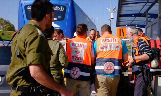 Atentado con coche en Gush Etzion