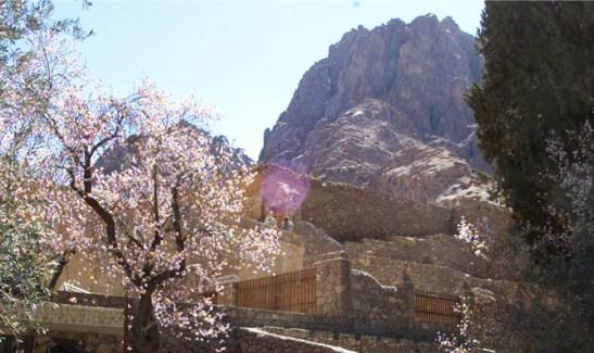 Monasterio en el Sinai egipcio