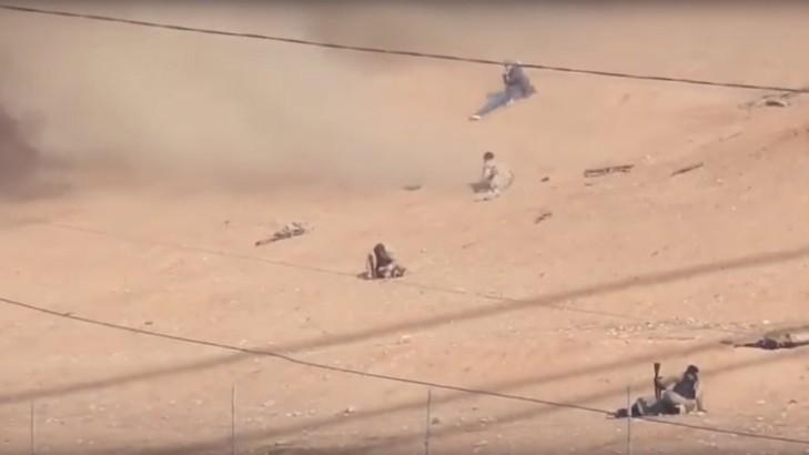 Ratas del ISIS bombardeadas por un B-52