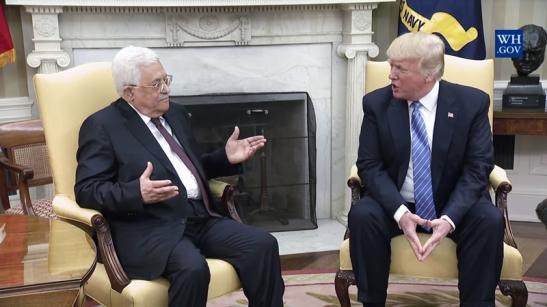 Imagen White House Abbas Donald