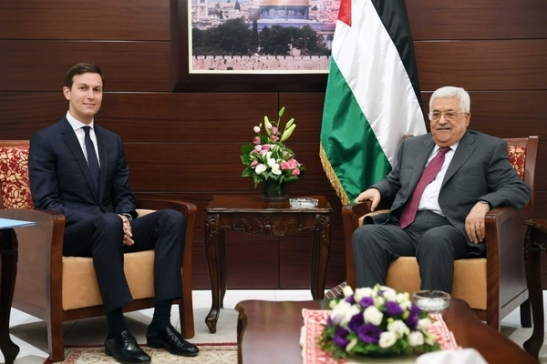 Palestinian President Abbas Meets With Jared Kushner