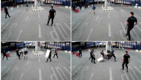 Melilla islamista ataca a policias.png