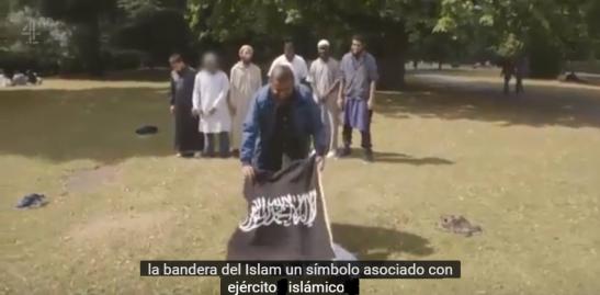 Terrorista de Londres en un documental