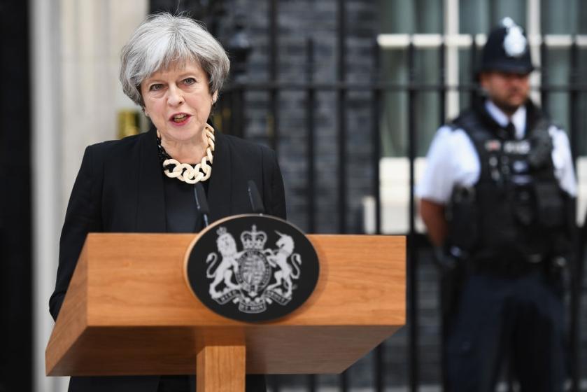 Theresa May-Inglaterra