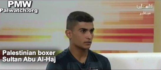 Boxeador palestrucho