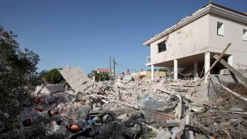 Explosión en un edificio de Alcanar -Tarragona- relacionado con el atentado de Barna