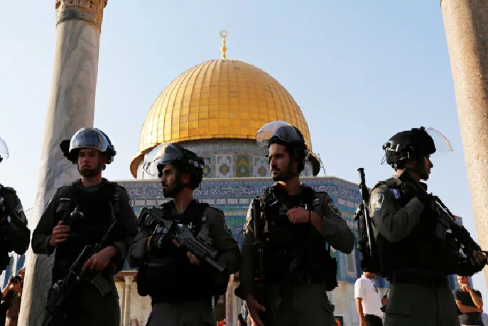 IDF en el Monte del Templo