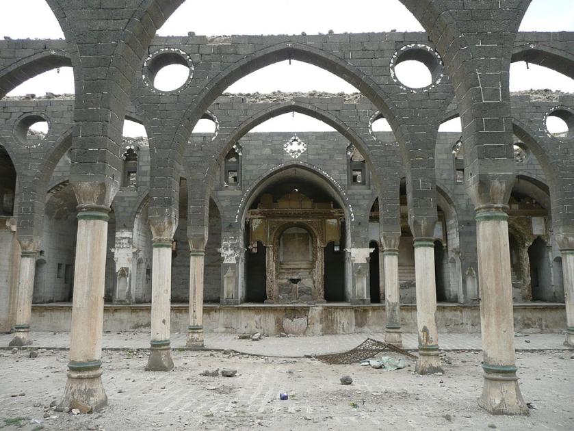 Iglesia armenia en Diyarbakir-Turquía