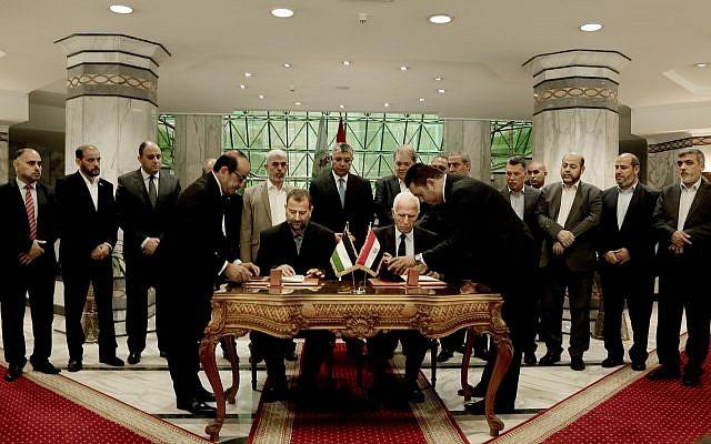 Acuerdo Fatah hamas en el Cairo-640x400