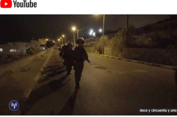 Escena de ataque terrorista IDF