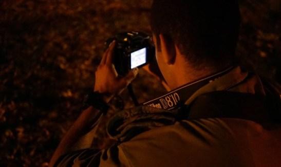Soldado IDF con camara