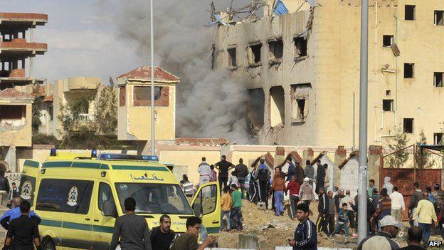 Atentado en mezquita del Sinai