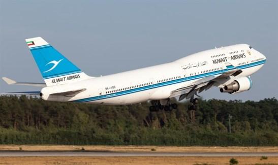 Avion de Kuwait Airways