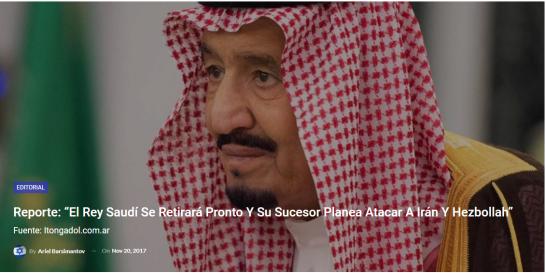 Rey saudi
