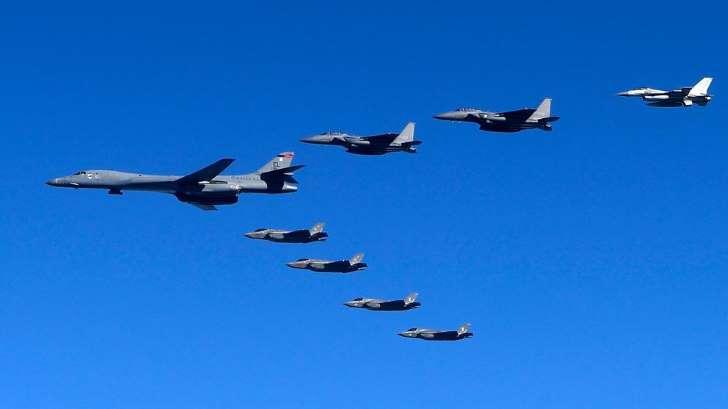Bombarderos B-18 USA