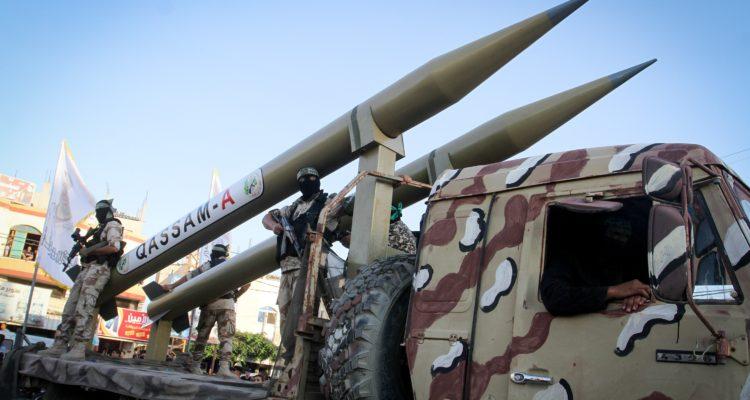 Cohetes Qassam de Hamas