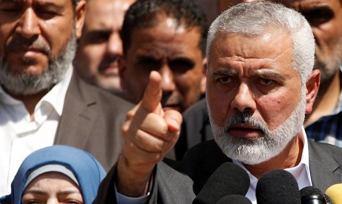 Ismael Haniyeh lider de Hamas