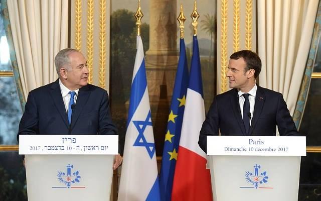 Macron y Bibi
